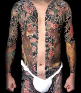 L'horimono, marchio della Yakuza