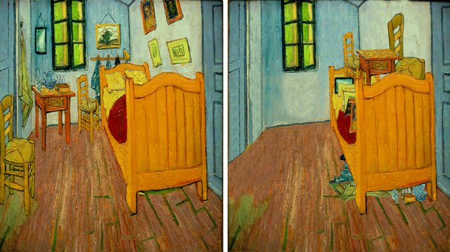 L 39 arte di mettere in ordine di ursus wehrli cultura - La camera da letto van gogh ...